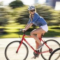 クロスバイクの乗車姿勢